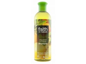 Faith in Nature přírodní šampon BIO Grapefruit a Pomeranč 400 ml