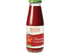 Bio passata: drcená rajčata Elibio 680 g