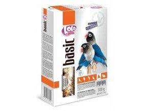 LOLO BASIC kompletní krmivo pro agapornisy 500 g krabička