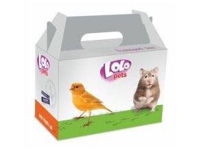 LOLOPets kartonová krabička na transport malá 14x9x8 cm