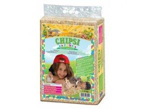 CHIPSI FUN lisované hobliny s barevn. pap.vločkami 60 L/4 kg - DOPRODEJ