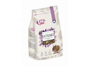EXTRIMO kompletní krmivo pro osmáky v sáčku se zipem 750 g