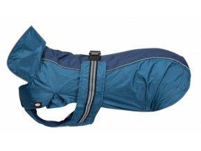 Pláštěnka ROUEN S 36 cm modrá pro buldočky (50-70cm) - DOPRODEJ