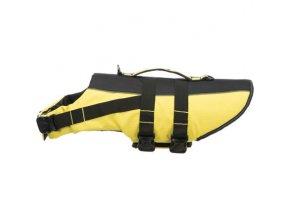 Life Vest plavací vesta pro psa S 35 cm: 42-66 cm, do 20kg žluto/černá