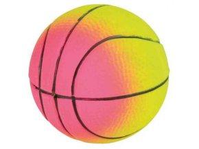 Sortiment neonových míčů, mechová guma 7cm TRIXIE