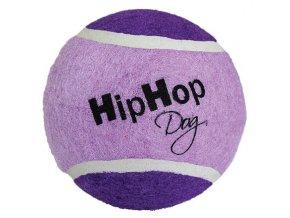 Tenisový míč barevný 10 cm HIPHOP DOG