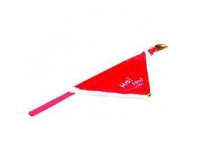 Vánoční šátek pro psa 30-40 cm/20 mm S-M