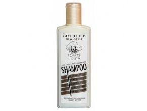 Gottlieb Pudel šampon 300ml-pro černé pudly s makadam.olejem