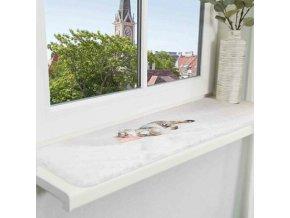 Lehací podložka NANI na okenní parapety 90 x 28 cm šedá