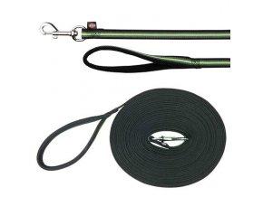 FUSION stopovací vodítko pásek 5 m/17 mm, - černo-zelený