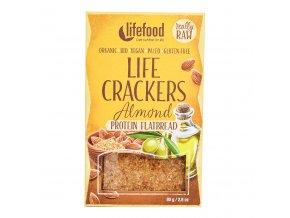 Life Crackers Chlebánek 80 g BIO LIFEFOOD