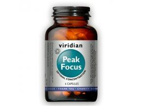 Peak Focus 6 kapslí Organic (Normální kognitivní funkce)