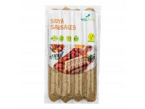 Klobásky sójové na grilování s bylinkami 250 g WELL WELL