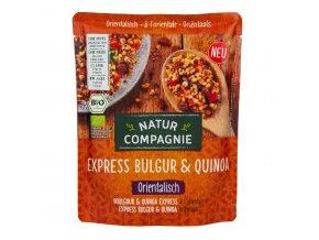 Express bulgur s quinoou orientální - hotový pokrm 250 g BIO NATUR COMPAGNIE