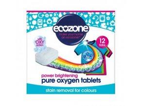 Ecozone Tablety s kyslíkem na barevné prádlo (12 ks)
