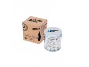 Hydrophil Mátovo-citronová zubní pasta v tabletách - bez fluoru (130 ks)