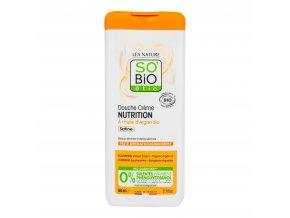 Krém sprchový NUTRITION s arganovým olejem 650 ml BIO SO'BiO étic