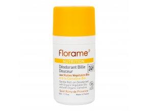 Deodorant přírodní kuličkový 24h efekt Nutrition 50 ml BIO FLORAME