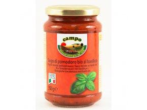 Omáčka rajčatová s bazalkou 350 g BIO