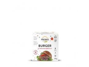 Burger z červené pšenice 230 g BIO PROBIO