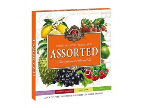 Basilur ASSORTED Fruit&Flavoured čaj 20ns