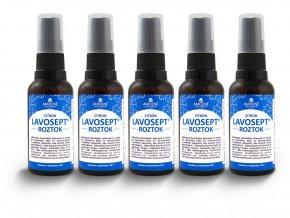 Lavosept® dezinfekční roztok na ruce a kůži sprej balení 5x50ml