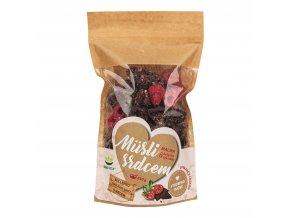 Müsli srdcem malina & belgická čokoláda 250g TOPNATUR
