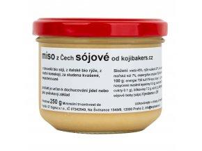Miso z Čech - sójové 250 g KOJIBAKERS