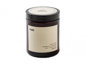 Mulieres Svíčka ve skle - bez vůně (180 ml)