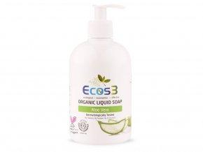 Organické tekuté mýdlo Aloe Vera 500ml