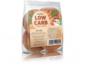 Low carb kolečka Arašídy a skořice 60g