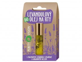 Bio Levandulový olej na rty 10ml