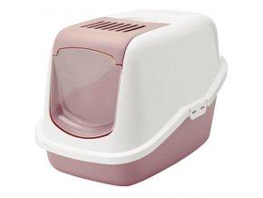 WC kryté Nestor růžové 56x39x38,5 Nobby