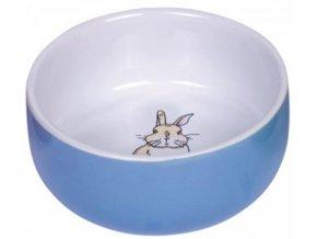 Miska hlod. keramická s obrázkem modrá 250ml