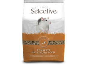 Supreme Science®Selective Rat & Mouse - potkan, myš 1,5 kg