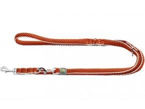 Vodítko Hilo přep. oranžový 25/200 Hunter