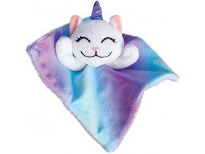 Hračka cat textil Crackles Caticorn KONG
