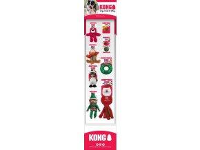 Sestava vánoč. Hraček 8 druhů KONG