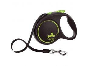 Flexi Black Design M pásek 5 m zelené 25 kg