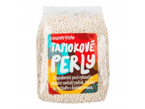 Perly tapiokové 250 g COUNTRY LIFE