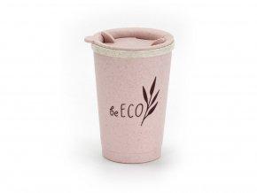 Eko kelímek Espresso růžový 280ml