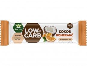 Tyčinka Low carb kokos pomeranč 40g