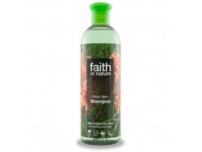 Faith in Nature BIO Šampon s Aloe Vera 400 ml
