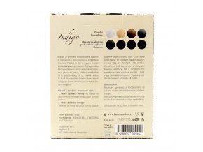 BIO Indigo 200g (kombinovatelné s hennou) Barva na vlasy Natural Hair Care