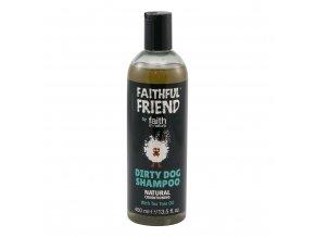 Faith in Nature Přírodní šampon Tea Tree pro psy 400 ml