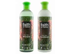 Faith in nature BIO Vlasová sada Aloe Vera 2x400 ml