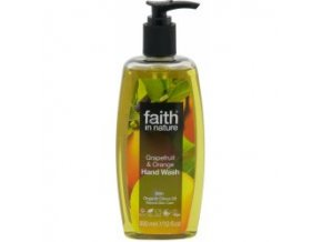 Faith In Nature tekuté mýdlo Grep a Pomeranč 300 ml