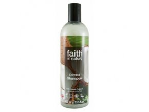 Faith in Nature přírodní BIO Kokosový šampon 250 ml