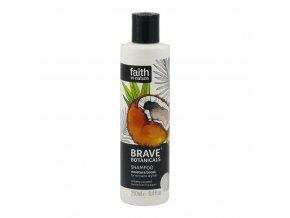 Faith in Nature BRAVE hydratační šampon - Kokos a Plumérie 250 ml NEW