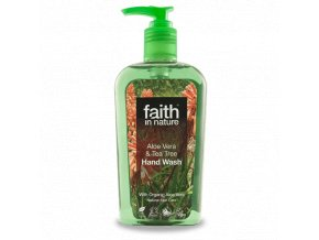 Faith in Nature BIO Tekuté mýdlo Aloe Vera a Tea Tree 300 ml